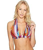Athena - Kaliedostripe Kalena Halter Bikini Top