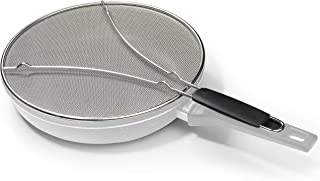 "Grease Splatter Screen for Frying Pan 13"" - Stops 99% of Hot Oil Splash - Protects Skin from Burns - Splatter Guard for Co..."