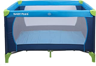 baby plus BP8059 Baby Play Pen, 0-36 Months - BLUE