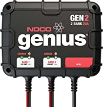 NOCO Genius GEN2 20 Amp 2-Bank On-Board Battery Charger