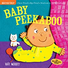 Indestructibles: Baby Peekaboo: Chew Proof · Rip Proof · Nontoxic · 100% Washable (Book for Babies, Newborn Books, Safe to...