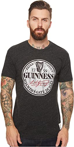 The Original Retro Brand - Short Sleeve Tri-Blend Guinness Tee