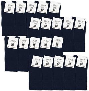 comprar comparacion Occulto 10   20 Pares de Calcetines de 100% Algodón para Hombres y Mujeres   Paquete Múltiple de Calcetines Negocios Algod...