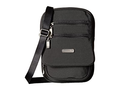 Baggallini Legacy Journey Crossbody (Charcoal) Cross Body Handbags