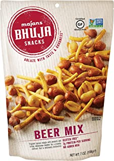 Sponsored Ad - Majans Bhuja Gluten Free Snack Mix, Non-GMO | No Preservatives | Vegetarian Friendly | No Artificial Colors...