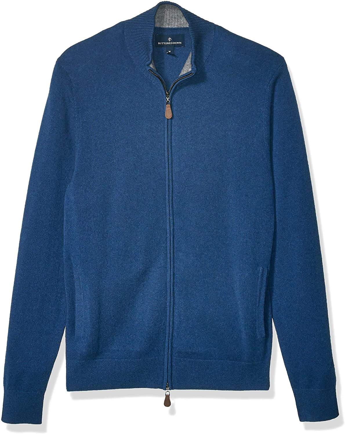 Selling rankings Buttoned Down Men's Full-Zip Selling rankings Sweater Cashmere