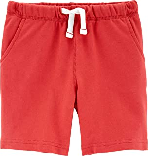 Burgundy 2-Toddler Carters Little Boys French Terry Active Shorts