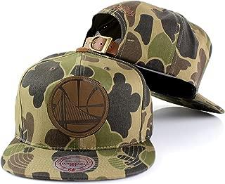 NBA Lux Camo Adjustable Strapback Hat