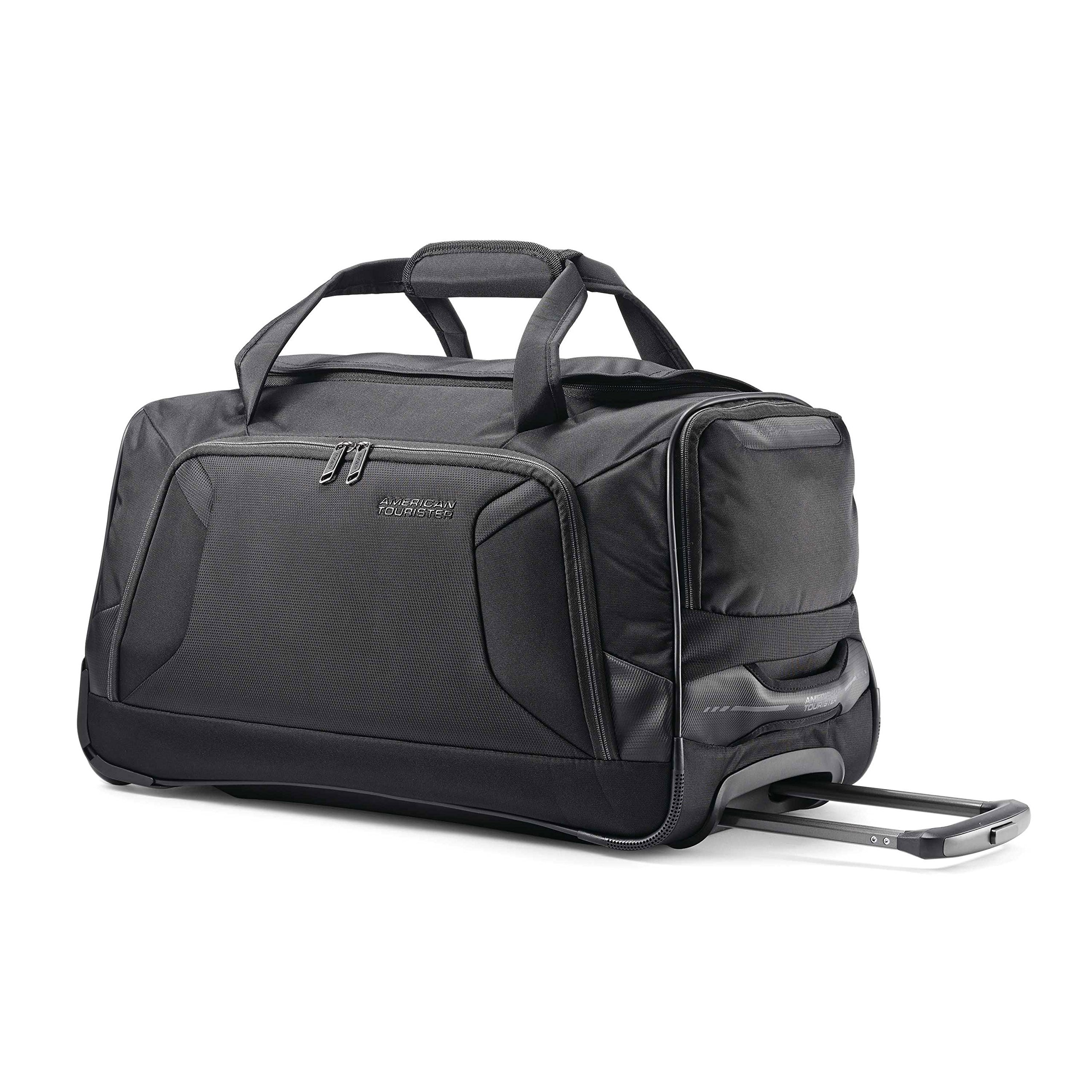 American Tourister Wheeled Duffel Black