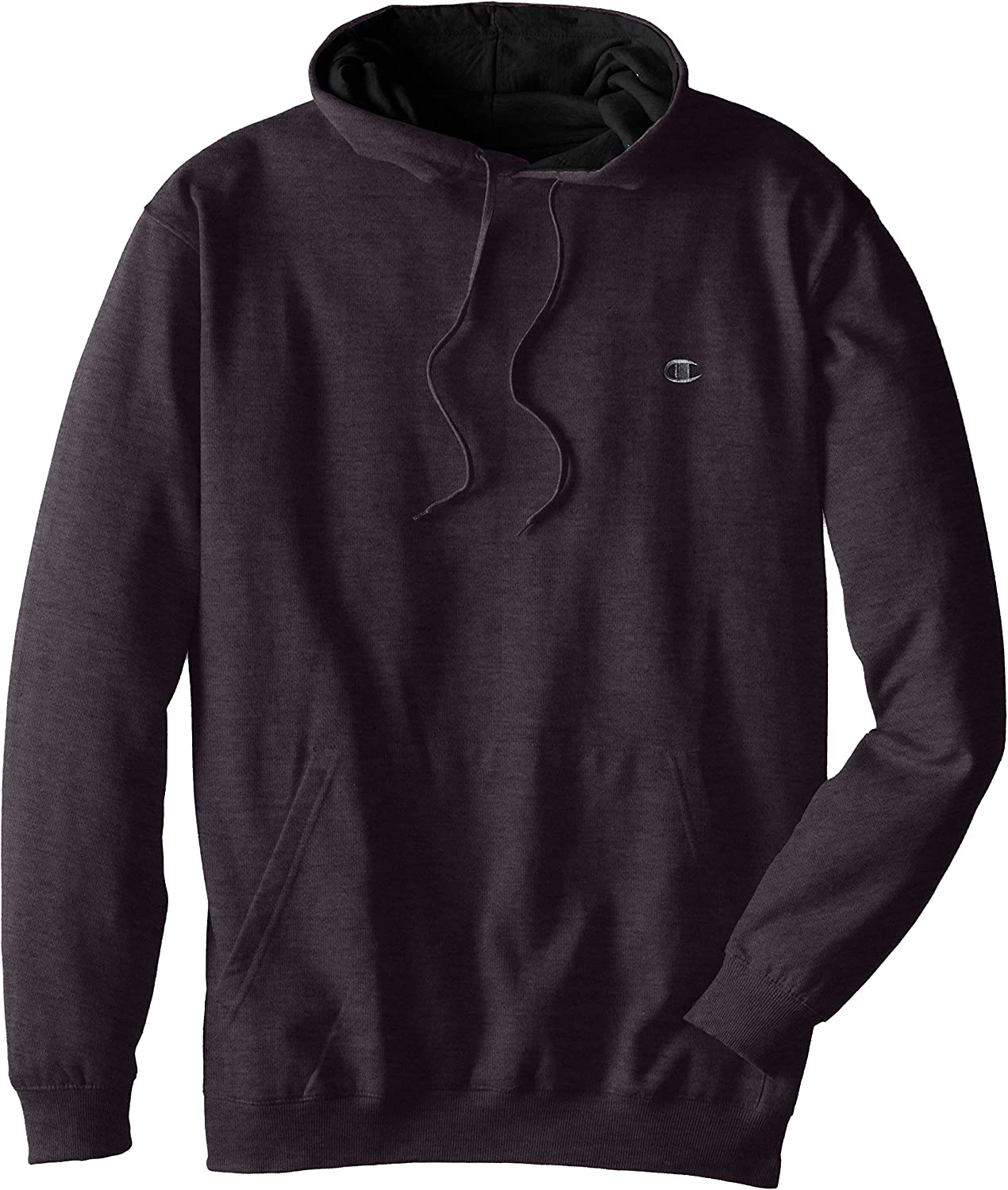 Champion Mens Big-Tall Fleece Pullover Hoodie