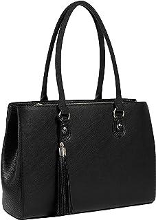 Work Tote 13 Inch Laptop Bag Women Designer Shoulder Handbag Purse Case Sleeve