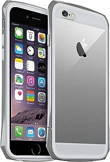 "SEIDIO TETRA Pro 极简透明背盖金属保护框,Gray 灰,适用于 Apple iPhone 6 - 4.7"""