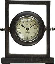 ساعة مكتب خشبية من IMAX Danna Gray Wash Finish