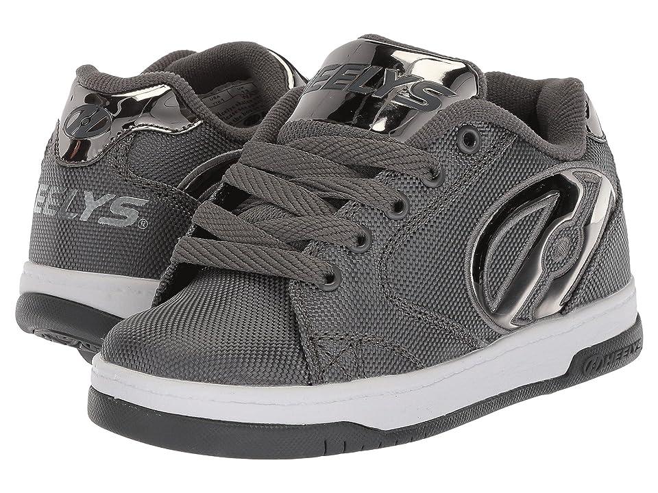 Heelys Propel 2.0 Ballistic (Little Kid/Big Kid/Adult) (Charcoal Ballistic/Pewter Chrome) Boys Shoes