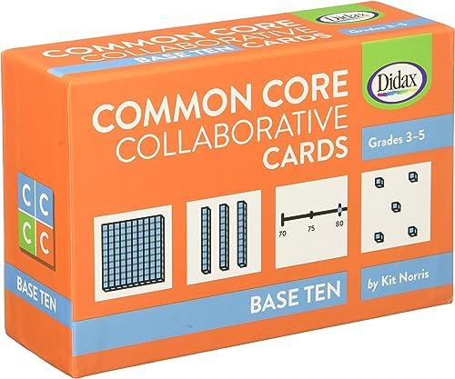 vendiendo bien en todo el mundo Base Base Base Ten Common Core Collaborative Cards by DD-211394  soporte minorista mayorista