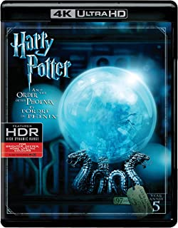 Harry Potter And The Order Of The Phoenix   4K + Blu-ray