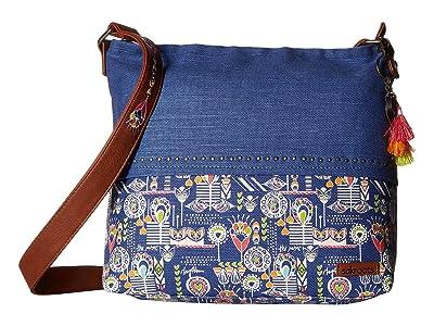 Sakroots Dakota Bucket (Indigo Dream Song) Handbags