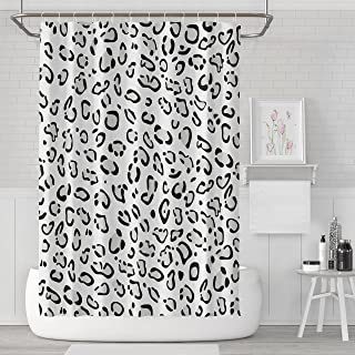 LILYMUA Waterproof Polyester Fabric Bathroom Shower Curtain, Animal Imitation Fashion Beautiful Colorful Art Print 72X78 Inch Bathroom Decor Curtains