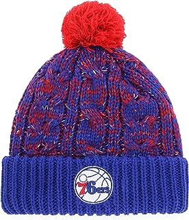 OTS NBA Women's Brilyn Cuff Knit Cap with Pom