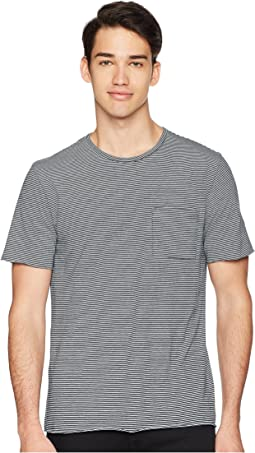 Vince - Feeder Stripe Short Sleeve Shirt