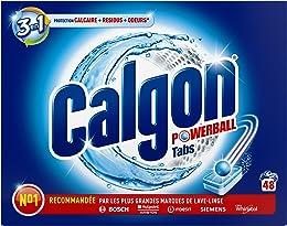 Calgon Anti-calcaire 3 en 1, protège du calcaire e