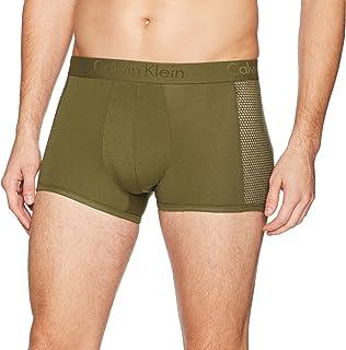 Calvin Klein Mens NB1351 Underwear Body Mesh Trunks Trunks