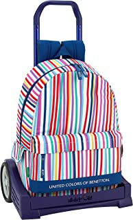 Ucb benetton Mochila con Carro Ruedas Evolution, Trolley.