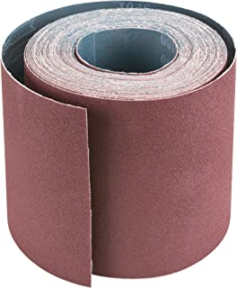"""Sanding Disc Abrasive Sand Paper Roll Self Adhesive Sticky Back 80-Grit 6/"""" Gold"""