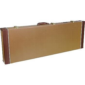 GATOR GWE-ELEC - Estuche para guitarra eléctrica de madera, color negro: Amazon.es: Instrumentos musicales