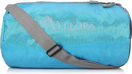 VELLORA Sport Polyester Duffle Gym Bag Long Lasting Material for Men and Women (Blue Colour, 15 Liter) Jasper