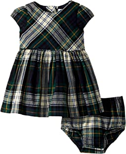 Ralph Lauren Baby - Flannel Dress & Bloomer (Infant)