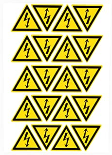 electrical safety labels stickers