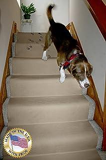 "LAMINET Non-Slip Carpet & Floor Protector – Beige – 30'L x 30"" W"