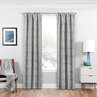 (grey, 90cm x 160cm .) - Eclipse Naya Blackout Window Curtain Panel