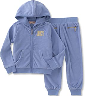 Juicy Couture Baby Girls' 2 Pieces Jog Set