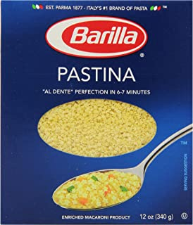 Barilla Pasta, Pastina, 12 Ounce (Pack of 16)