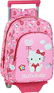 Mochila Infantil de Hello Kitty Balloon con Carro 705, 260x110x340mm
