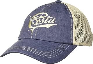 Costa Del Mar Retro Trucker Hat with Snap Closure