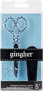 "Gingher 5"" Designer Series Lauren Knife Edge Sewing Scissors"