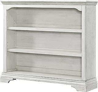 Westwood Design Olivia Convertible Hutch Bookcase, Brushed White
