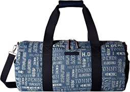 THD Denim-Duffel-Washed Denim