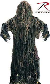 Rothco Lightweight All Purpose Ghillie Suit-Woodland Camo