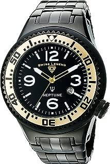 Swiss Legend Men's 21819P-BB-11-GB Neptune Force Analog Display Swiss Quartz Black Watch