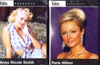 Paris Hilton Biography , Anna Nicole Smith Biography : Blonde Bombshell 2 Pack Collection