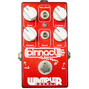 Wampler Pinnacle Deluxe V2 Pedal Distortion Guitar Effect Effects Pedal NEW