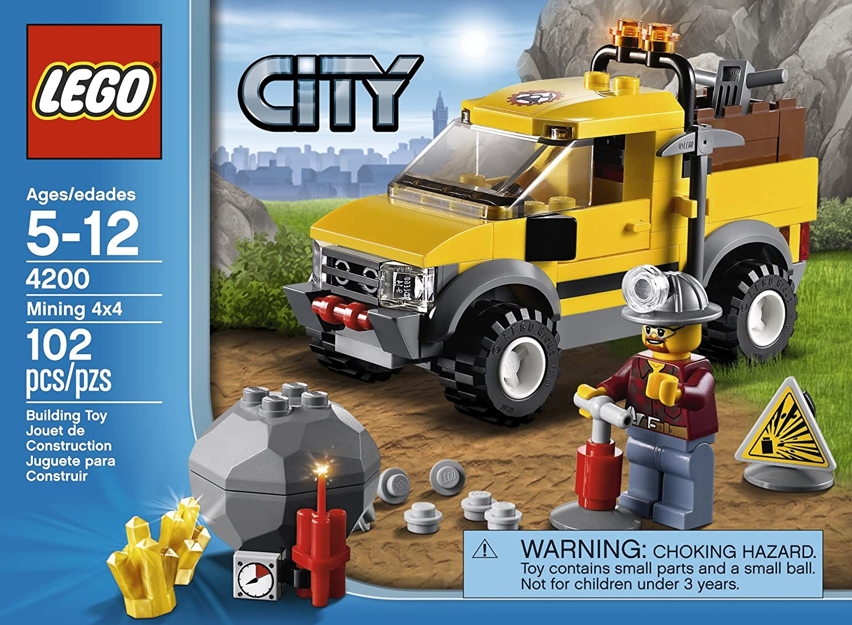 envio rapido a ti LEGO City Mining 4x4 102pieza(s) Juego Juego Juego de construcción - Juegos de construcción, 5 año(s), 102 Pieza(s), 12 año(s)  punto de venta de la marca