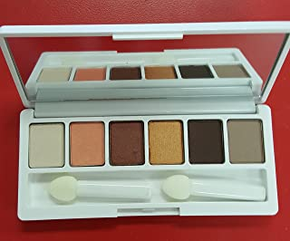 clinique limited edition all about eye shadow palette 6 color AJ Bronze satin 03 morning java 07 at dusk 02 black honey 1w peach pop AH ivory bisque