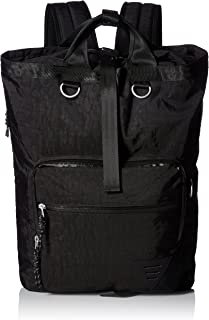 Steve Madden Men's Tote Backpack, deep black, One Size
