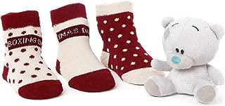 Tiny Tatty Teddy Christmas Socks and 4