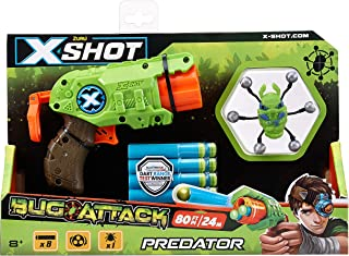 Zuru X-SHOT- Bug Attack- Predator TK-3 Toy For Boys